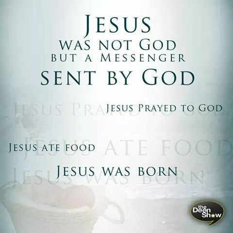 jesus#christian#islam and jesus#food#born#pray#prayed#god#nabi ciise#