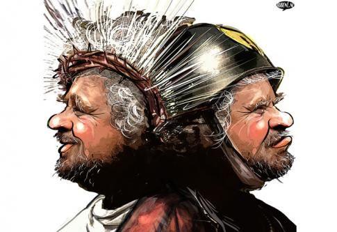 ITALIE • Beppe Grillo, pâle copie de Marine Le Pen