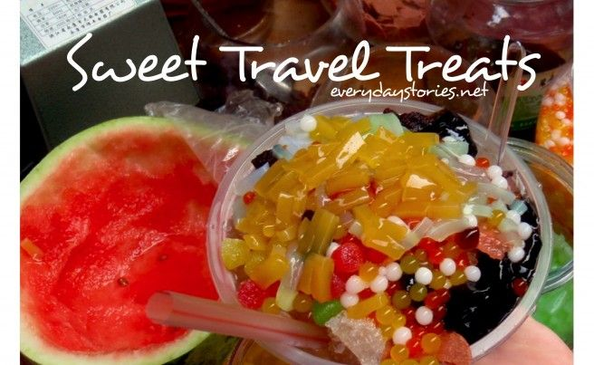 What's your favorite...Sweet Travel Treat?| Everyday Travel Stories