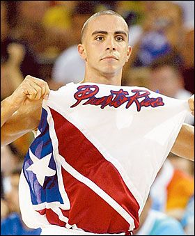 "Puerto Rico became the first-ever in history to beat the USA's (NBA!) Dream Team"" during the 2004 Summer Olympics. Final score? 92 - 76!"