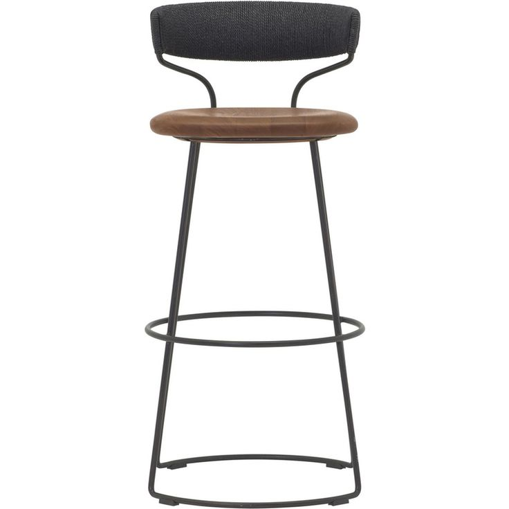 Danish Cord Swivel Bar Stool McGuire Furniture  sc 1 st  Pinterest : swivel stool - islam-shia.org