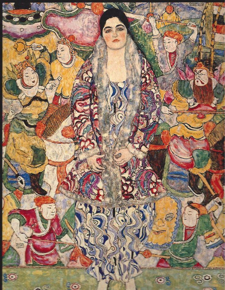Portrait of Friederike-Maria Beer