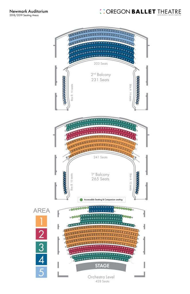 The Awesome Along With Beautiful Newmark Theater Seating Chart Di 2020