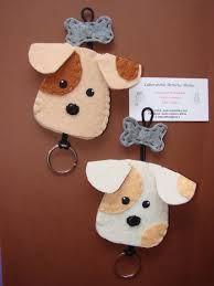 Risultati immagini per portachiavi cane feltro