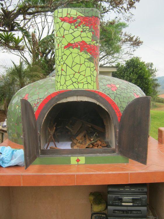 Costa Rica Forno Bravo Pizza Oven Mosaics Pinterest