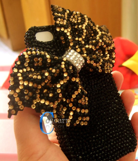 This is a little much but it's adorable! Bling Bling!