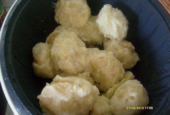 Cuketové chlupaté knedlíky