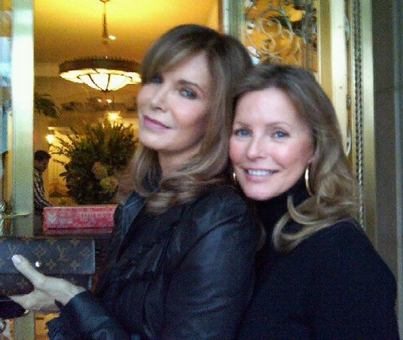 Jaclyn Smith and Cheryl Ladd. They still look amazing at 65 and 61 yrs. old!