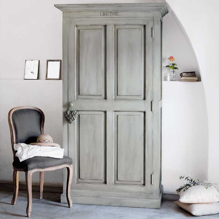 armoire st remy maison du monde 990 for the country house pinterest the doors love the. Black Bedroom Furniture Sets. Home Design Ideas