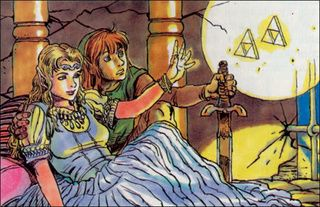 Original Zelda Art By Katsuya Terada