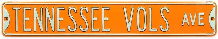 University of Tennessee Steel Street Sign