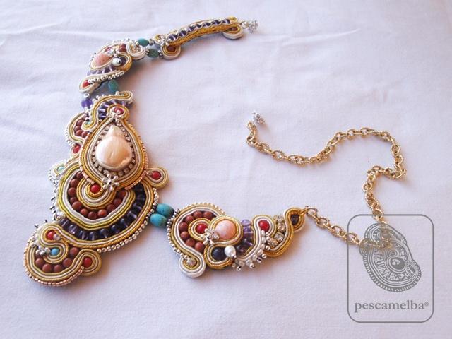 # pescamelba  necklace $ 1413,6