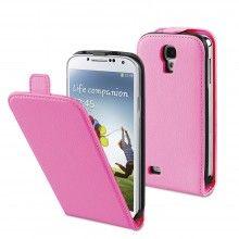 Forro Galaxy S4 Muvit - Slim Rosa con protector de pantalla  CO$ 48.049,36