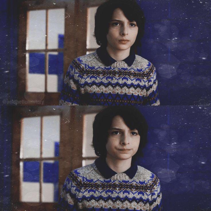 I love his sweater | Mike Wheeler in Stranger Things 2