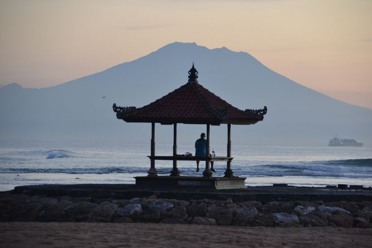 Morning in Nusa Dua.
