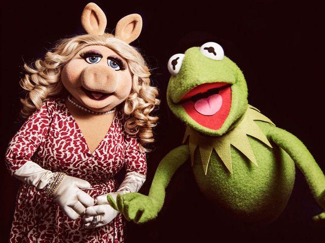 Мисс Пигги и Кермит