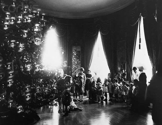 27 Best Images About Jackie Kennedy At Christmas On