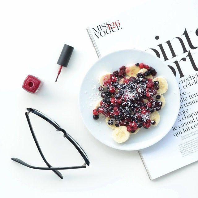 Favorite breakfast. #flatlay @sabinabotica Instagram photo
