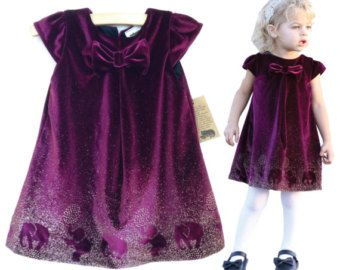 Baby girl Christmas dress. Baby girl by englaCharlottaShop on Etsy
