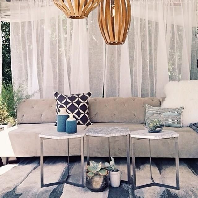 10 Real Home Living Rooms   west elm