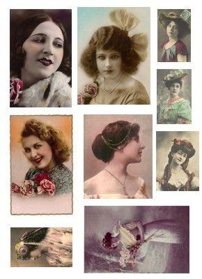 Frauenbilder 2 | Bastelfrau