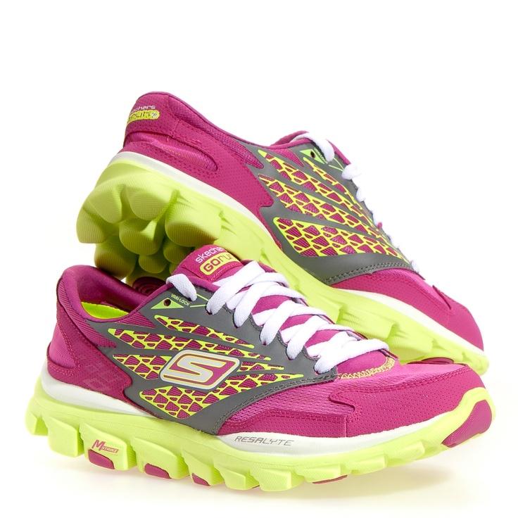 Skechers Go Run Ride Women's Running Shoes Pink 7