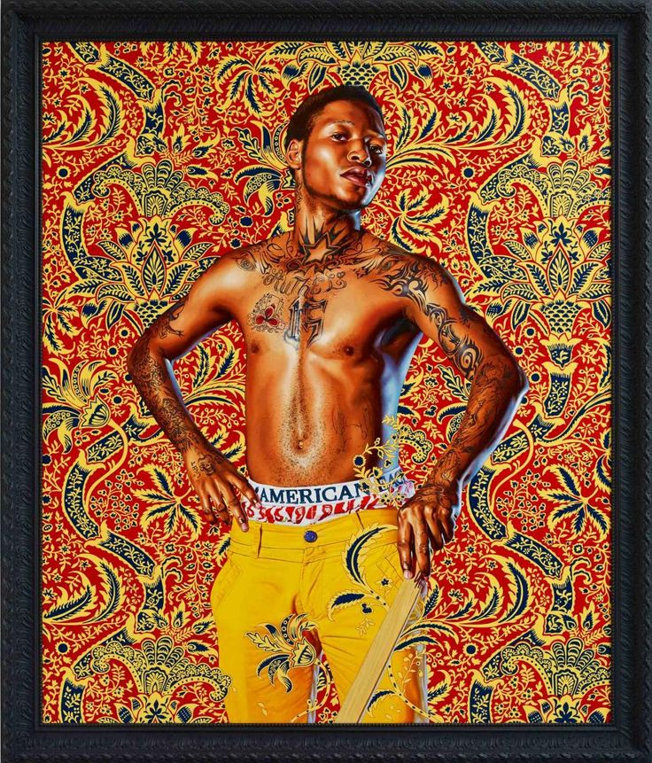 KEHINDE WILEY 'THE WORLD STAGE: JAMAICA' - 'Prince Albert, Prince Consort of Queen Victoria'