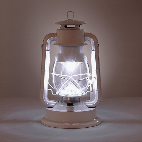 Buy John Lewis Vermont LED Gloss Lantern Online at johnlewis.com