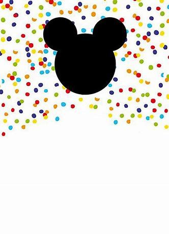 graphic regarding Mickey Mouse Printable Cutouts named Resultado de imagen de Mickey Mouse Printable Template
