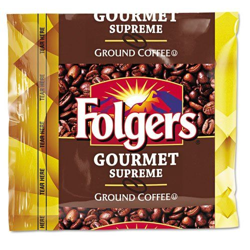 Folgers Coffee Fractional Pack Gourmet Supreme 175 oz 42 per Carton ** Learn more by visiting the image link. (This is an affiliate link) #GroundCoffee