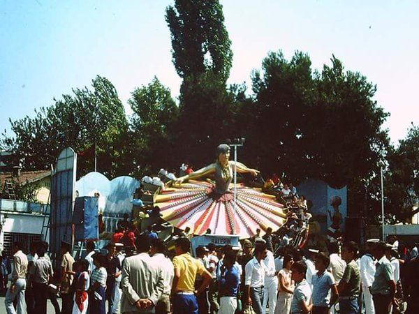 Balerin (80'ler) #İzmir #Fuar #birzamanlar #istanlook #nostalji