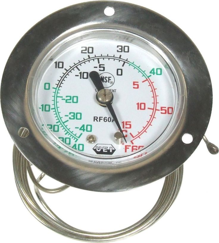 UEI Test RF60A Vapor Tension Thermometer Home Kitchen Bar Tools  #StandardPlumbingKohler