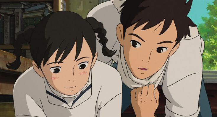 From Up On Poppy Hill <3 Another sweet Studio Ghibli movie that's just simple but heartfelt <3