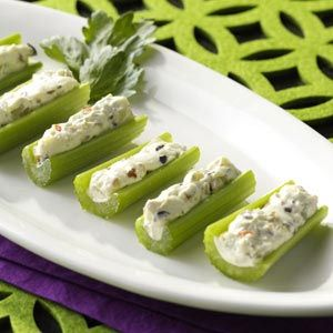 Stuffed Celery (In the 50s, no party tray was complete without stuffed celery!)