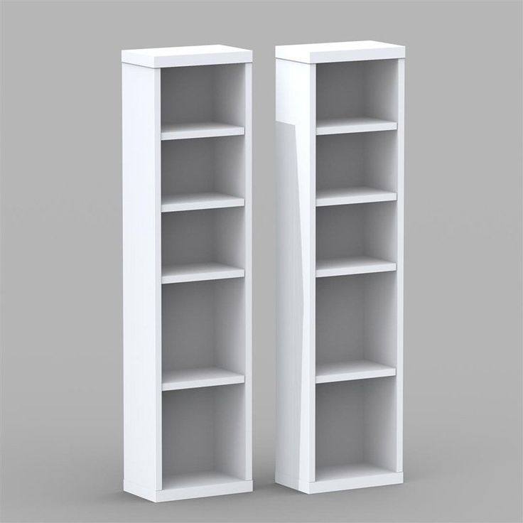 Have to have it. Nexera Liber-T Modular Design Your Own Storage and Entertainment System - CD/DVD Storage Towers - Set of 2 - White $99.99
