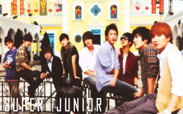 Super Junior Wallpaper 6. Found more wallpaper in http://kpopidolwallpaper.blogspot.com/