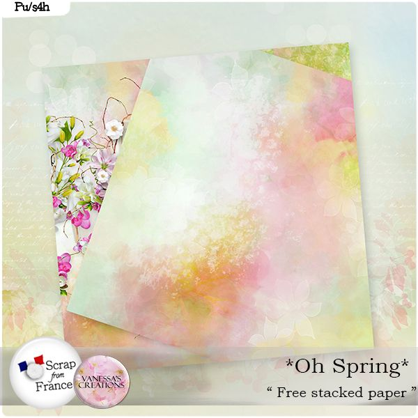 Great Spring kit by Vanessa's Creations now with discount !!! With Freebie  Scrap From France: http://scrapfromfrance.fr/shop/index.php?main_page=index&cPath=88_308