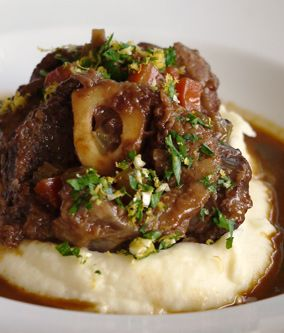 Traditional Italian Food Recipe for Christmas  : osso buco