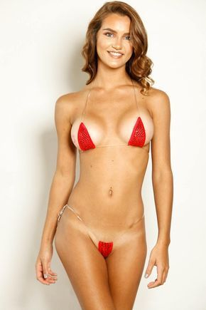 c65127faed954 Bitsys Bikinis 2 Piece Micro Bikini G-String Set. Rock this hot and sexy  outfit on the beach or at the pool. Have all eyes on you with this tiny  micro mini ...