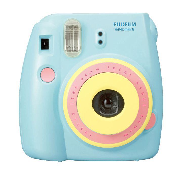 Holgadget Exclusive Sale!! - Fuji Instax Mini8 CMY Special Edition Camera ( Model B )