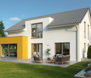 Stadtvilla Family Classic Walmdach Okal Haus Fertighaus Mit