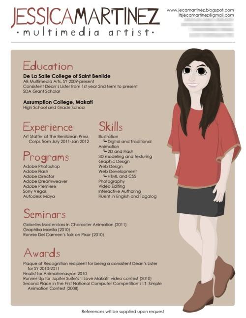 Pin by Nätverksportalen Nätverk on Tips på olika / annorlunda CV - simple resume examples for college students