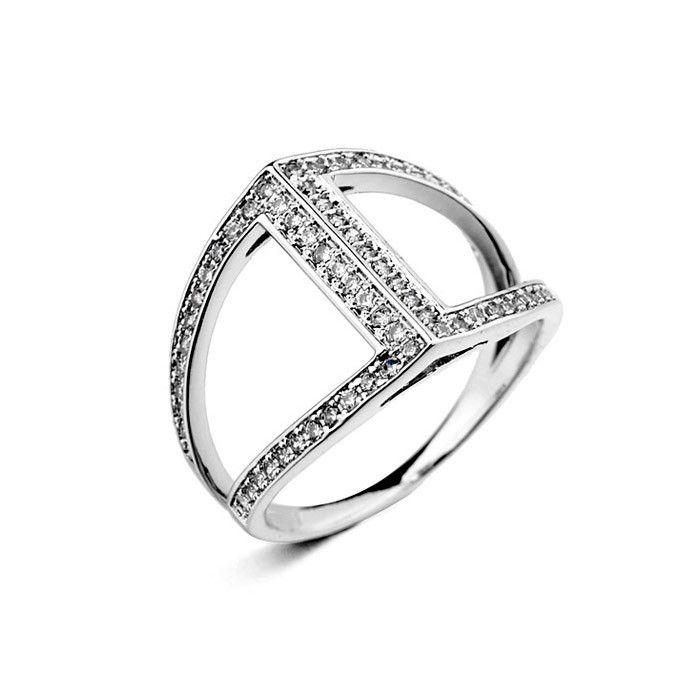 Регулируемая обручальные кольца для женщин, Обручальные кольца для женщин, Женская 18 К золотой палец кольца