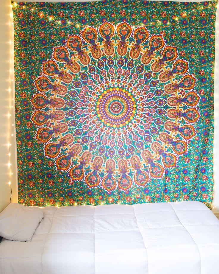 Tropical Mandala Tapestry from The Bohemian Shop
