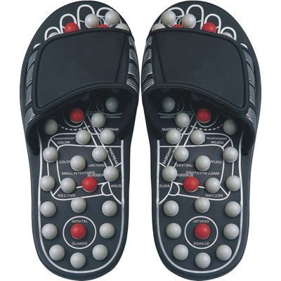 Deluxe Comfort Reflexology Sandals Size: Large http://wartremovetip.com/natural-mole-removal-techniques/