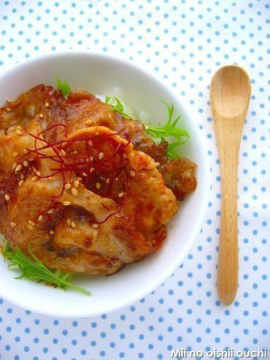 韓国風コチュジャン豚丼 by みぃさん | レシピブログ - 料理ブログの ...