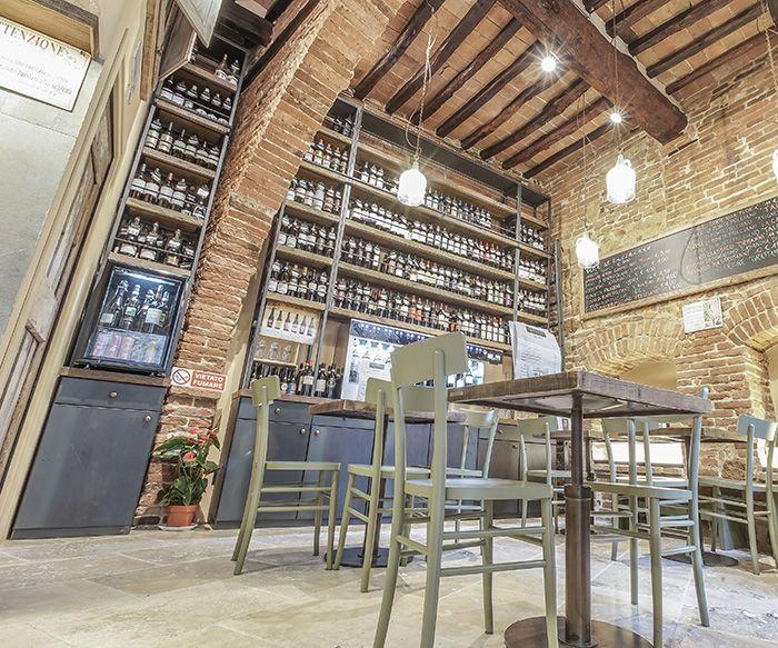 PERBACCO MONTEPULCIANO Portfolio Ristoranti interior design recupero SESTINI E CORTI SHOP ONLINE