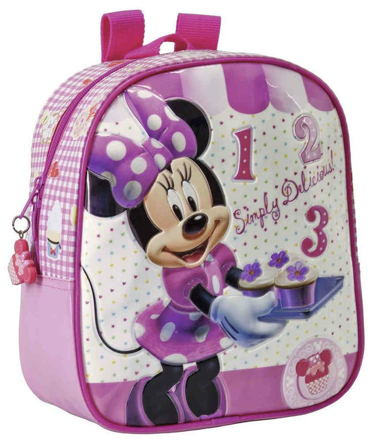 disney minnie mouse cupcakes small childrens backpack the handbag hut 20
