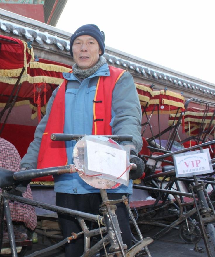 """""""Cab""""driver at Hutong (Beijing)"""