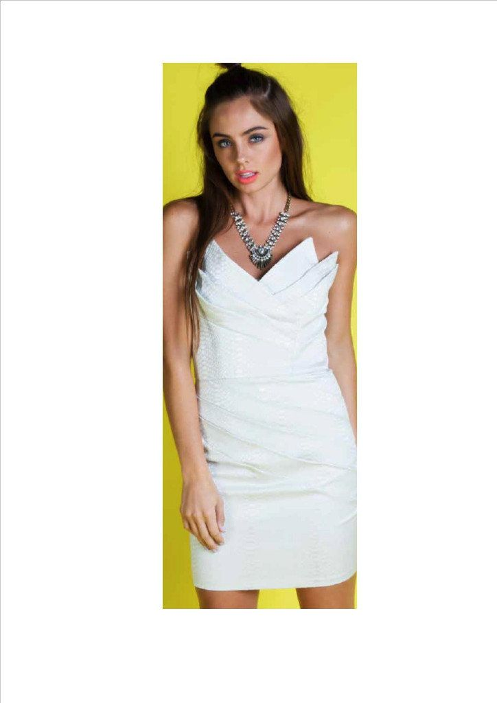Honey & Beau | Crescent Moon Dress | Ivory — New York Stopover www.newyorkstopover.com.au